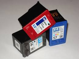 Empty Ink Jet Printer Cartridges